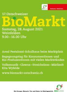 Flyer Biomarkt Weinfelden